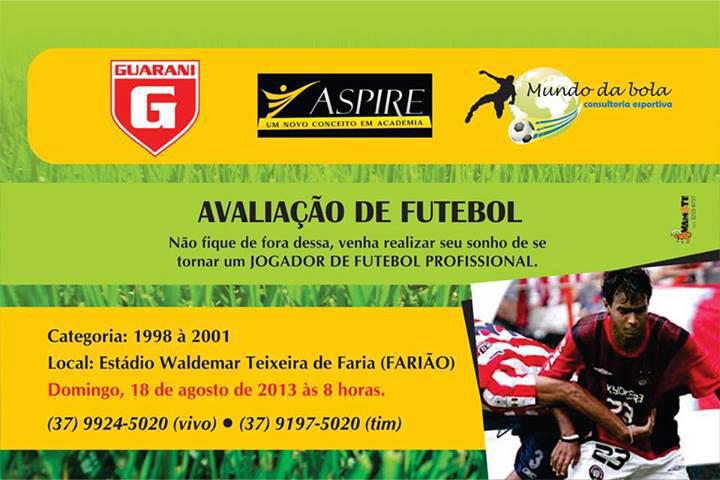 Avaliação para atletas de futebol 2fa3d38c48fec